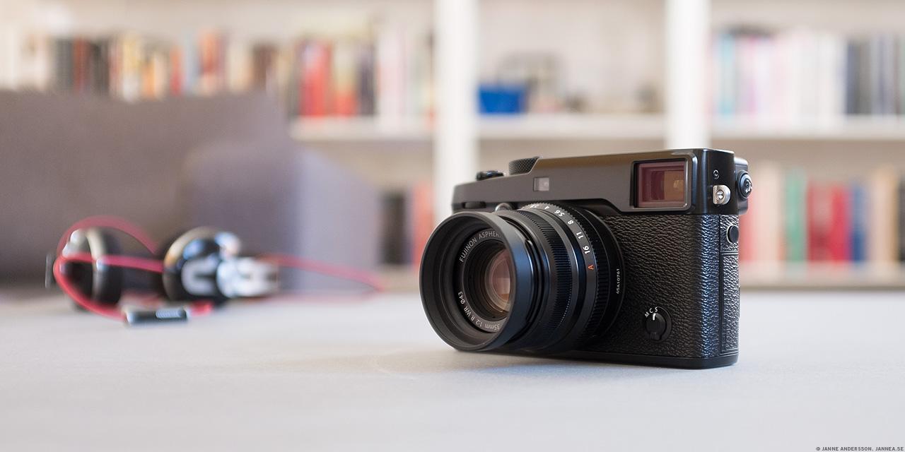 En ny fin kamera. En X-Pro2 |© Janne A