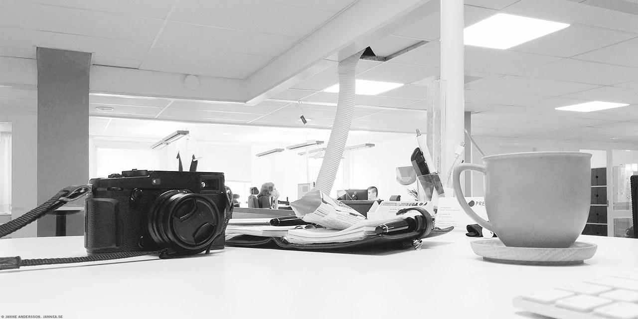 Kameran på jobbet |© Janne A