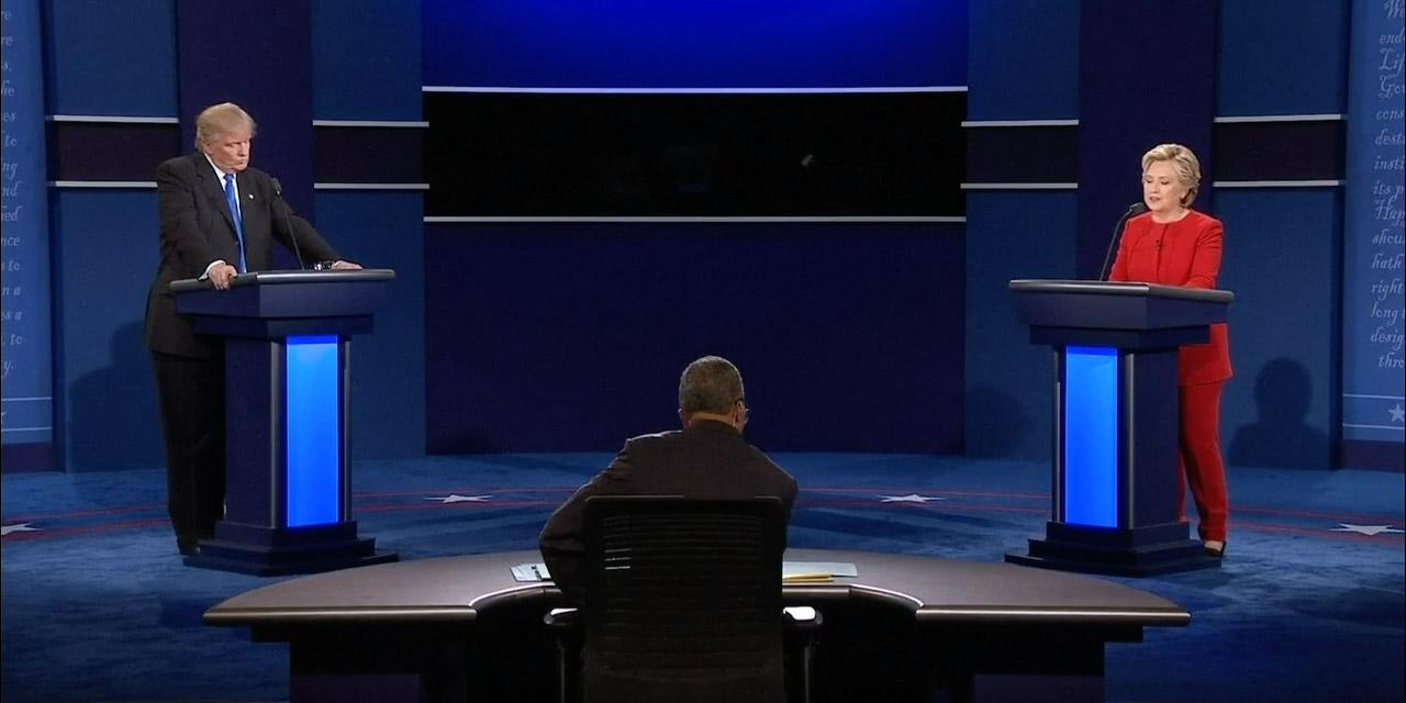 Bild från nattens debatt