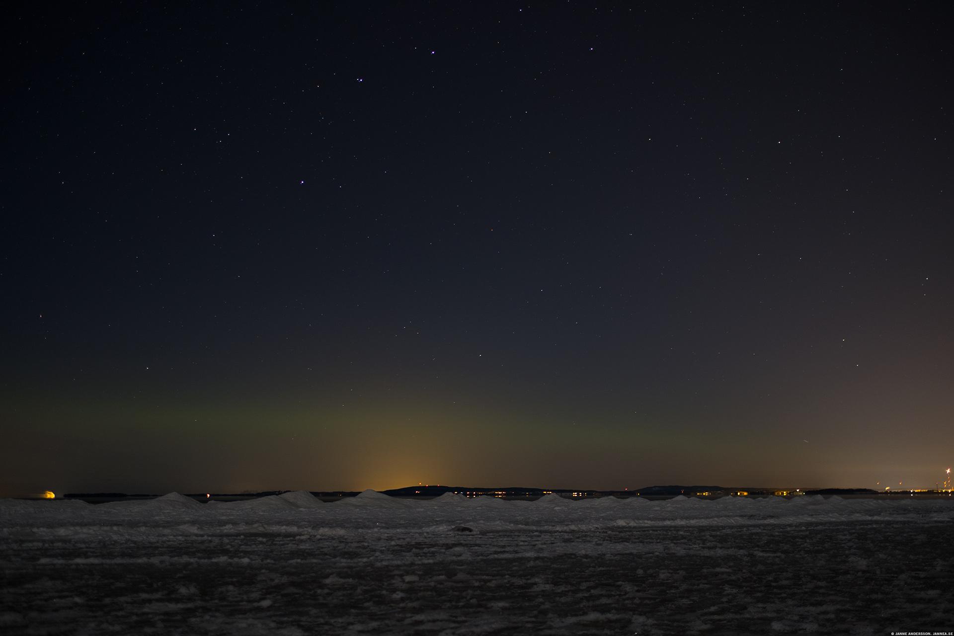 En stjärnklar natt och jävelkallt |©Janne A