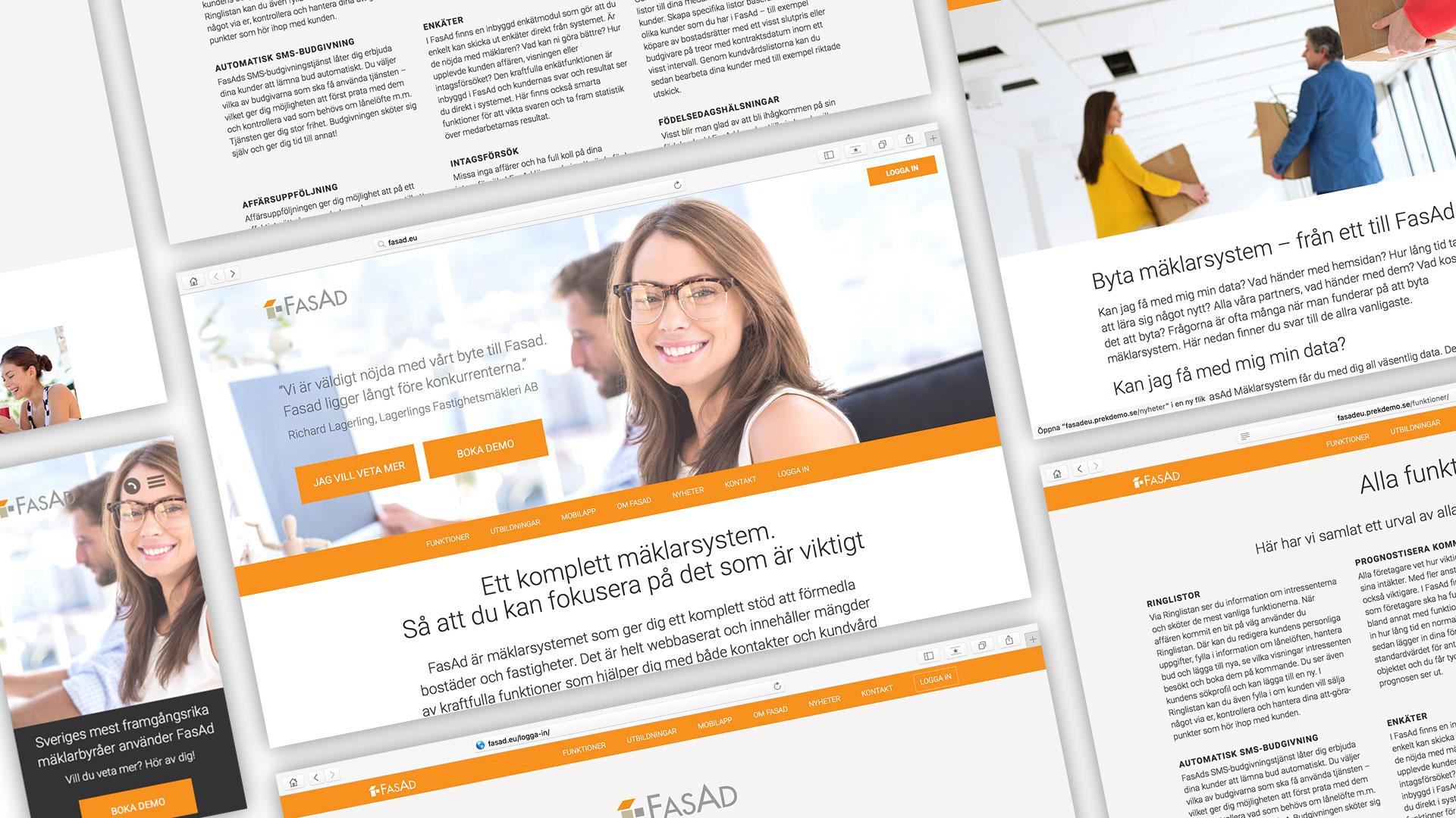 En ny sajt till jobbets system