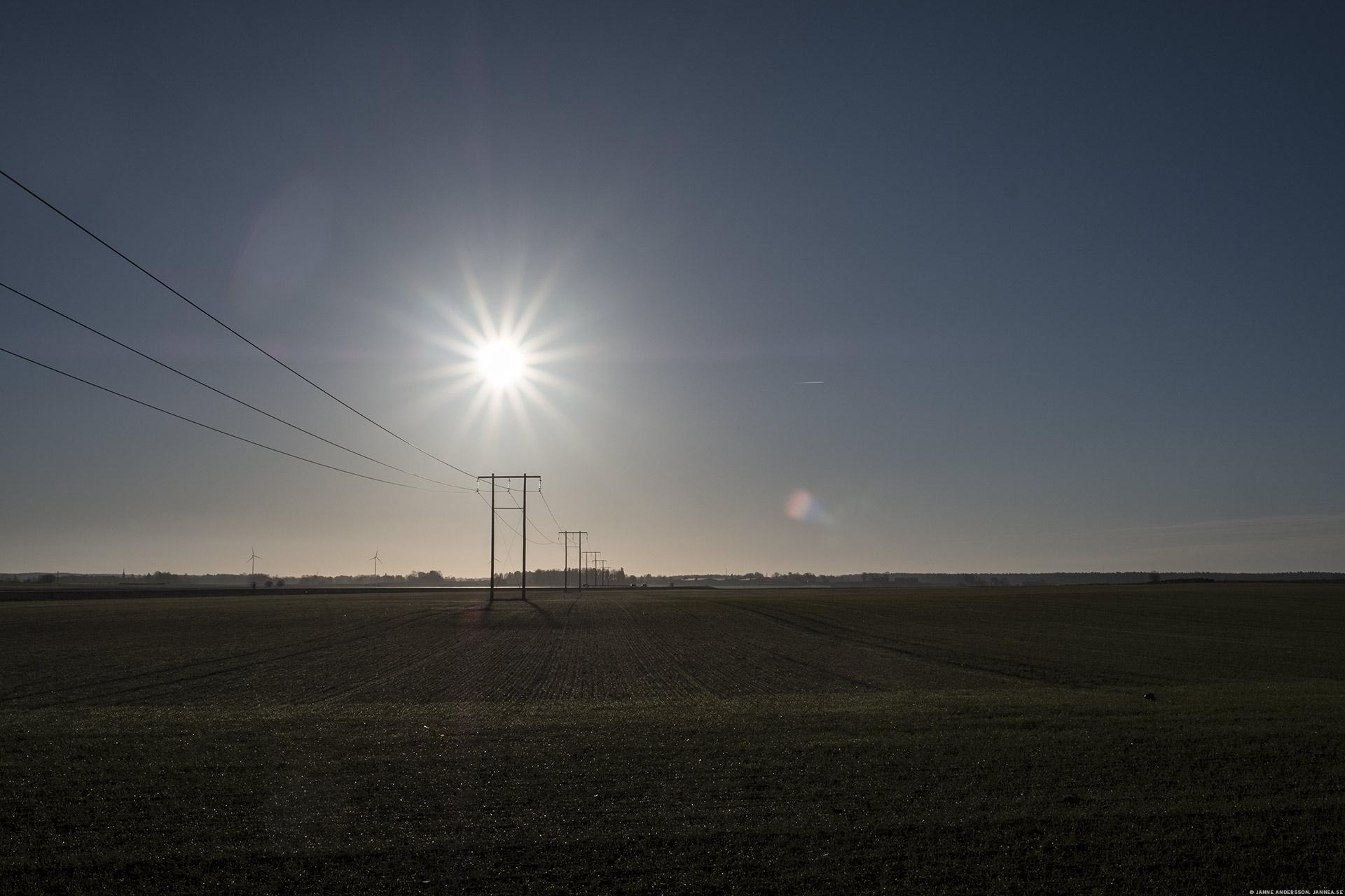 Morgonsol över östgötaslätten |©Janne A