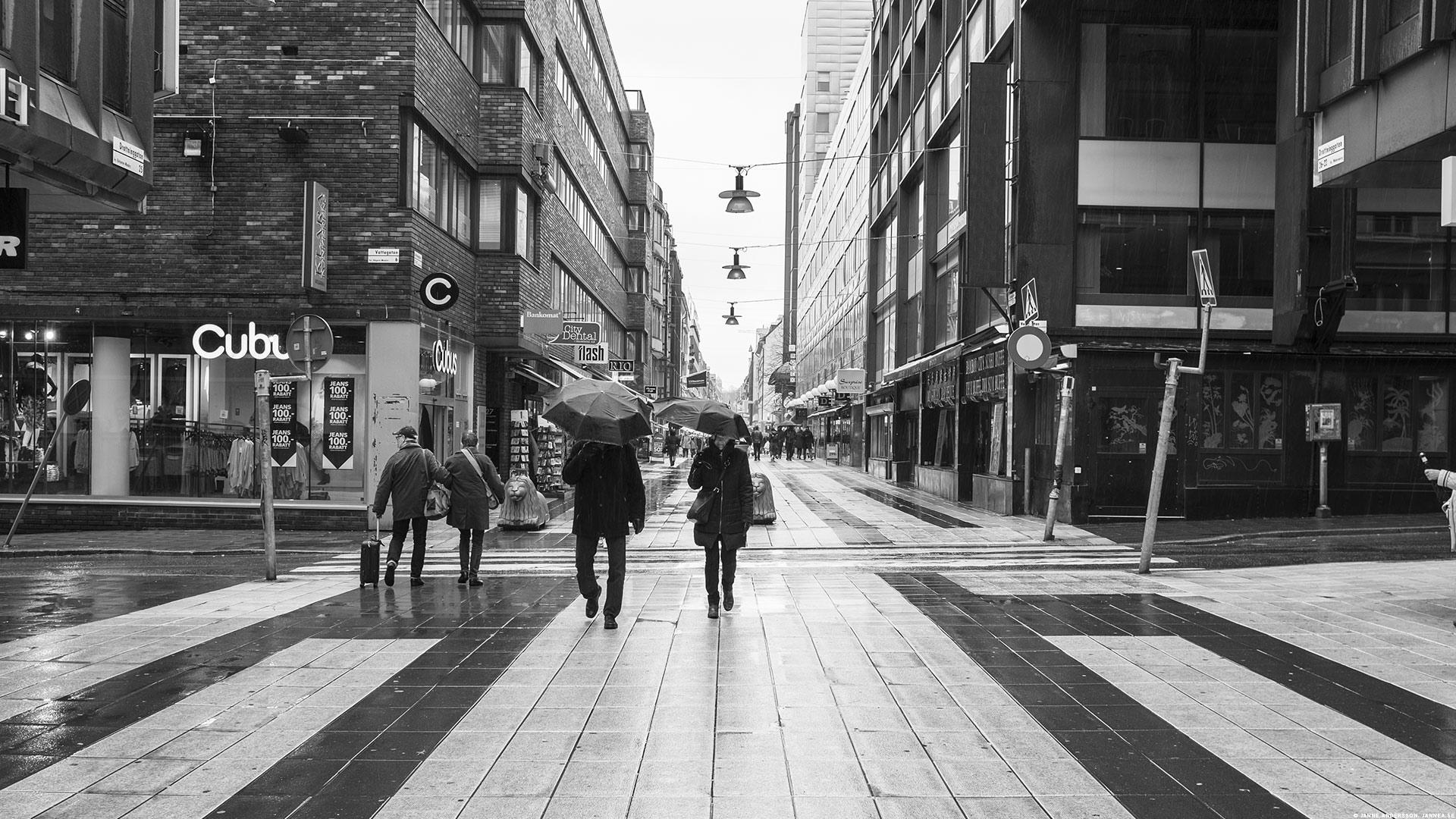 Drottninggatan, Stockholm |© Janne A