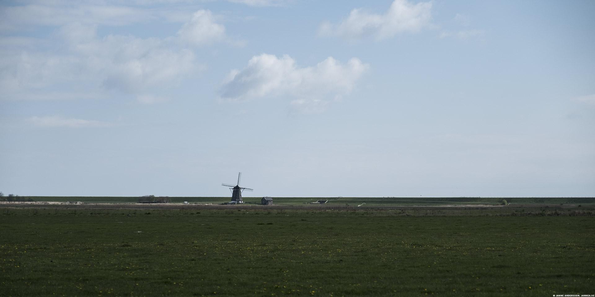 En väderkvarn i Holland |© Janne A