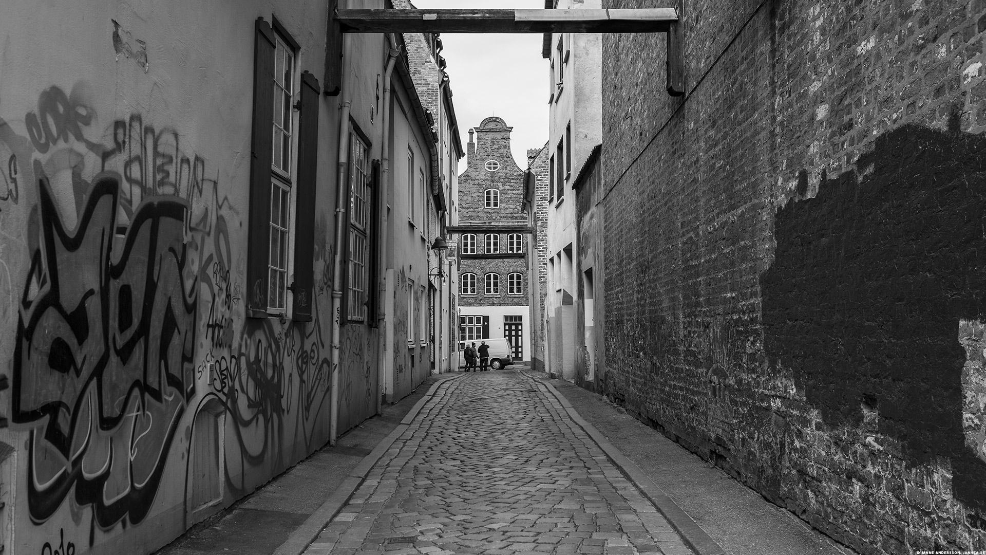 Gränd i Lübeck|©Janne A