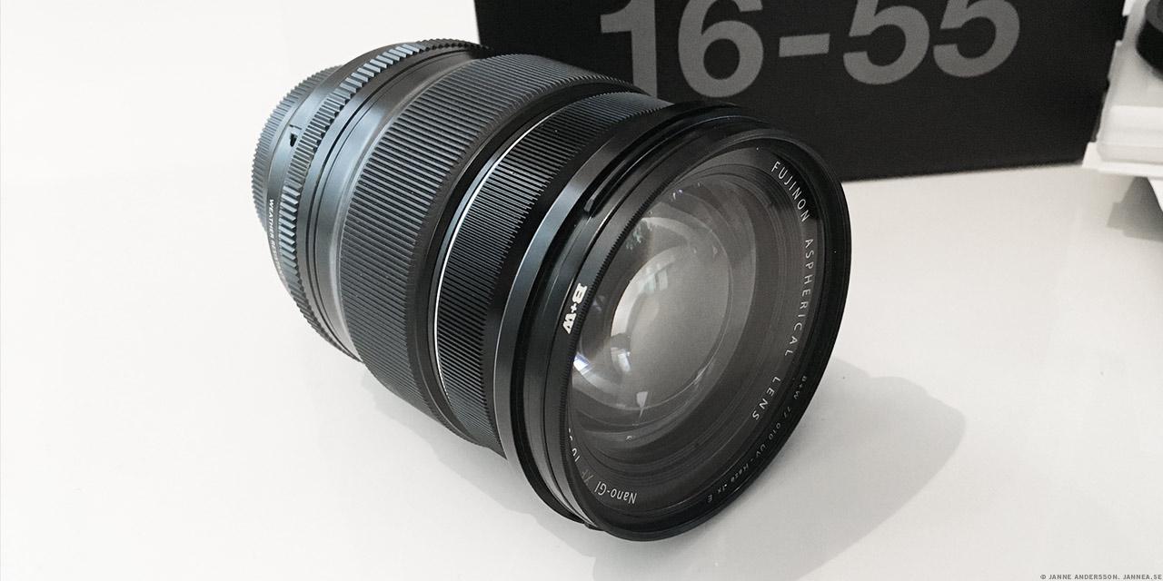 Fujifilm Fujinon 16–55mm f/2.8 |©Janne A