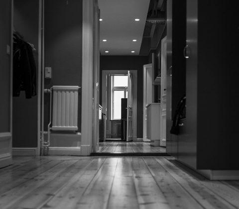 En korridor på kontoret |©Janne A