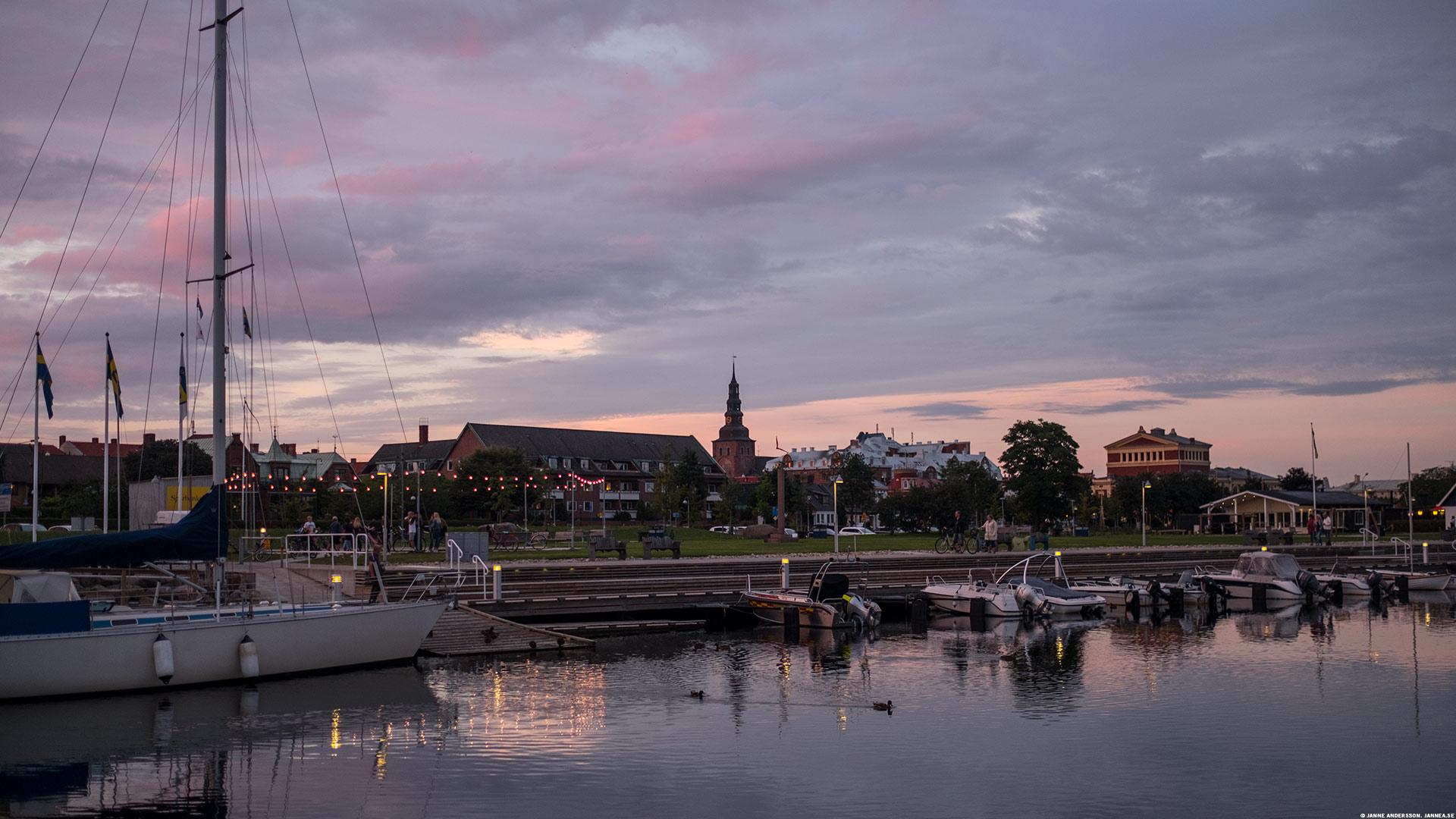 Ystad by night |©Janne A