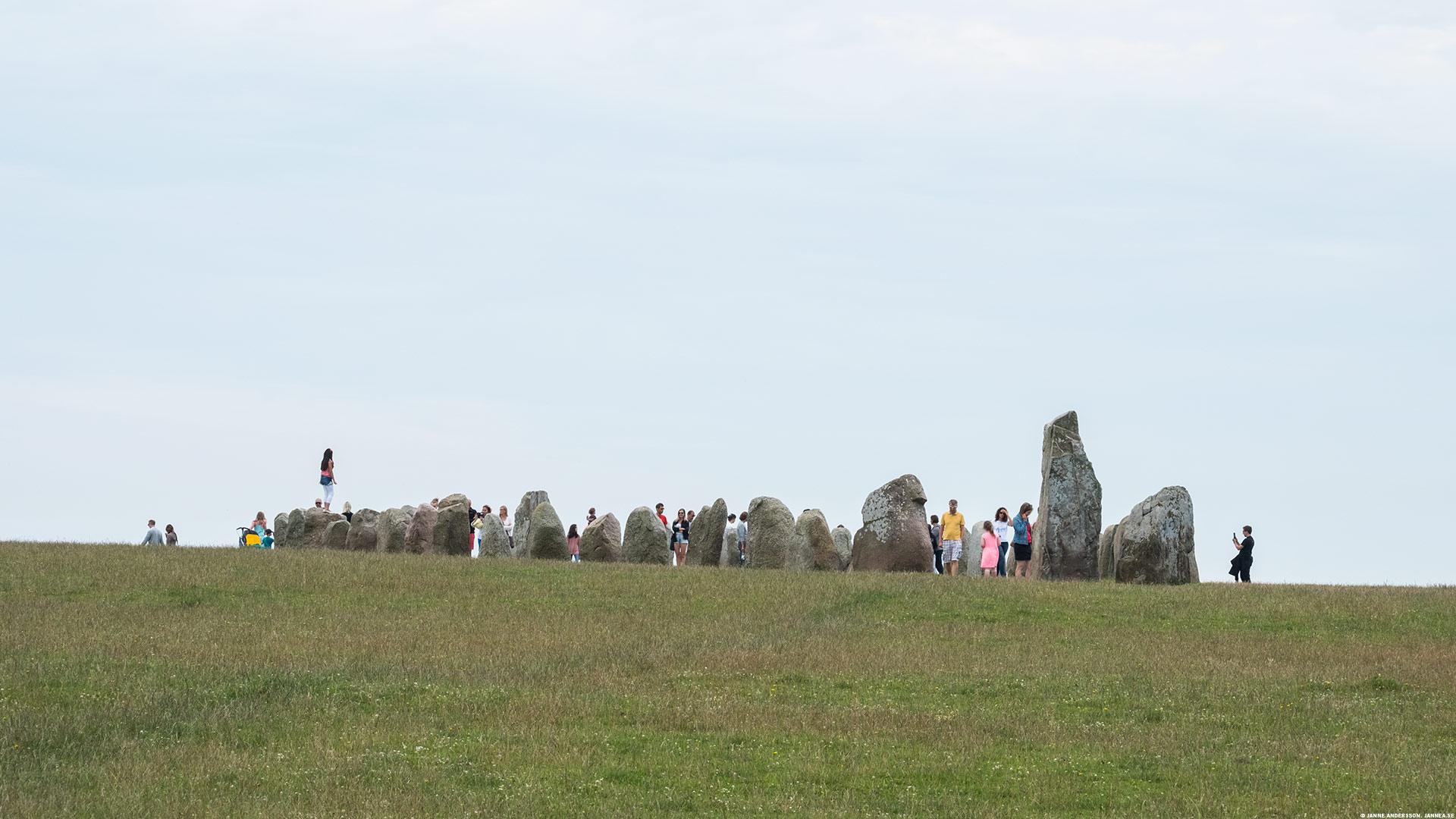 Ale stenar vid Kåseberga |©Janne A