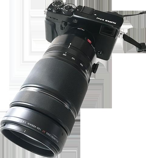 Nytt objektiv - Fujinon 100-400 mm |© Janne A
