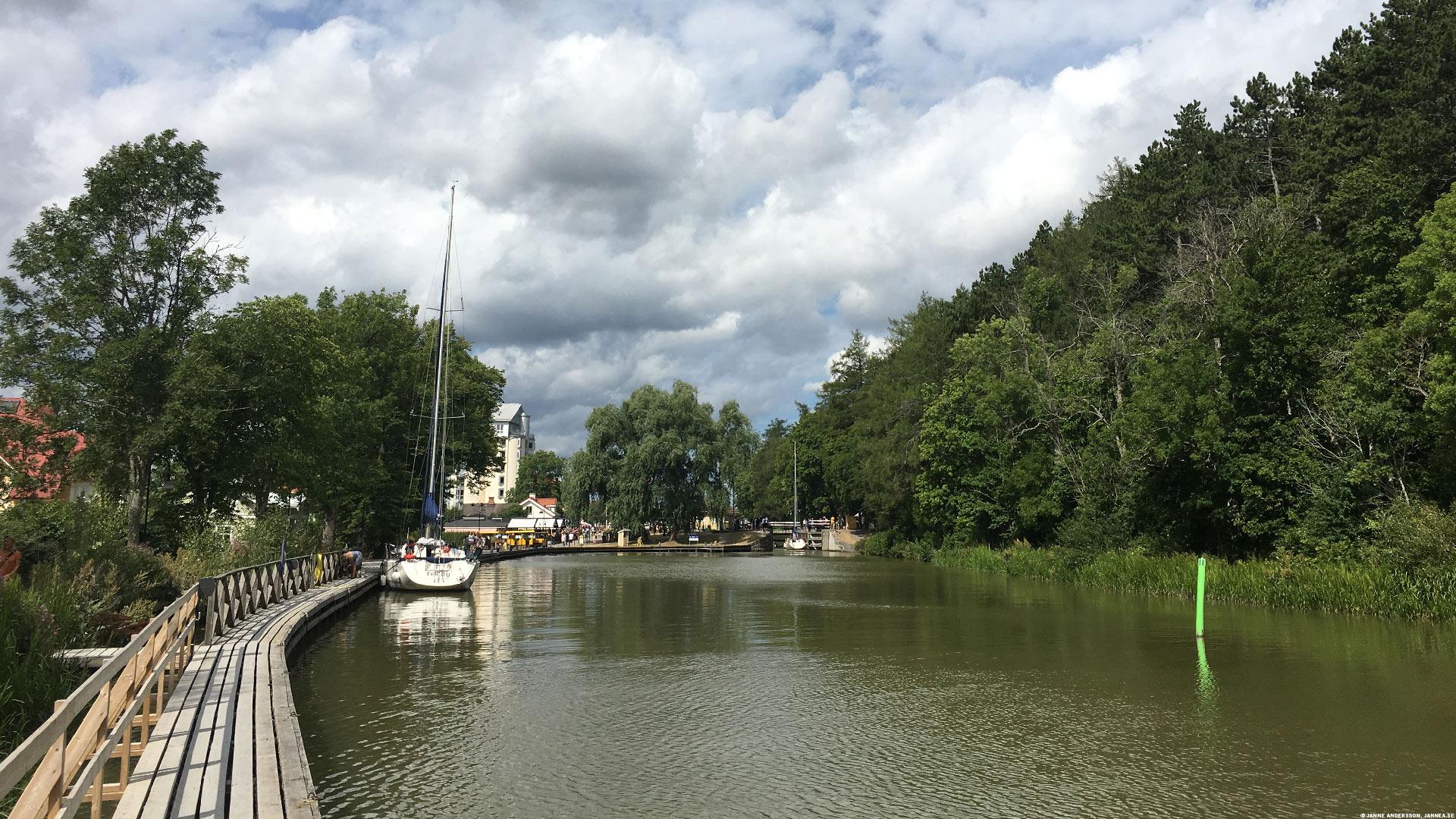 Göta Kanal genom Söderköping |©Janne A