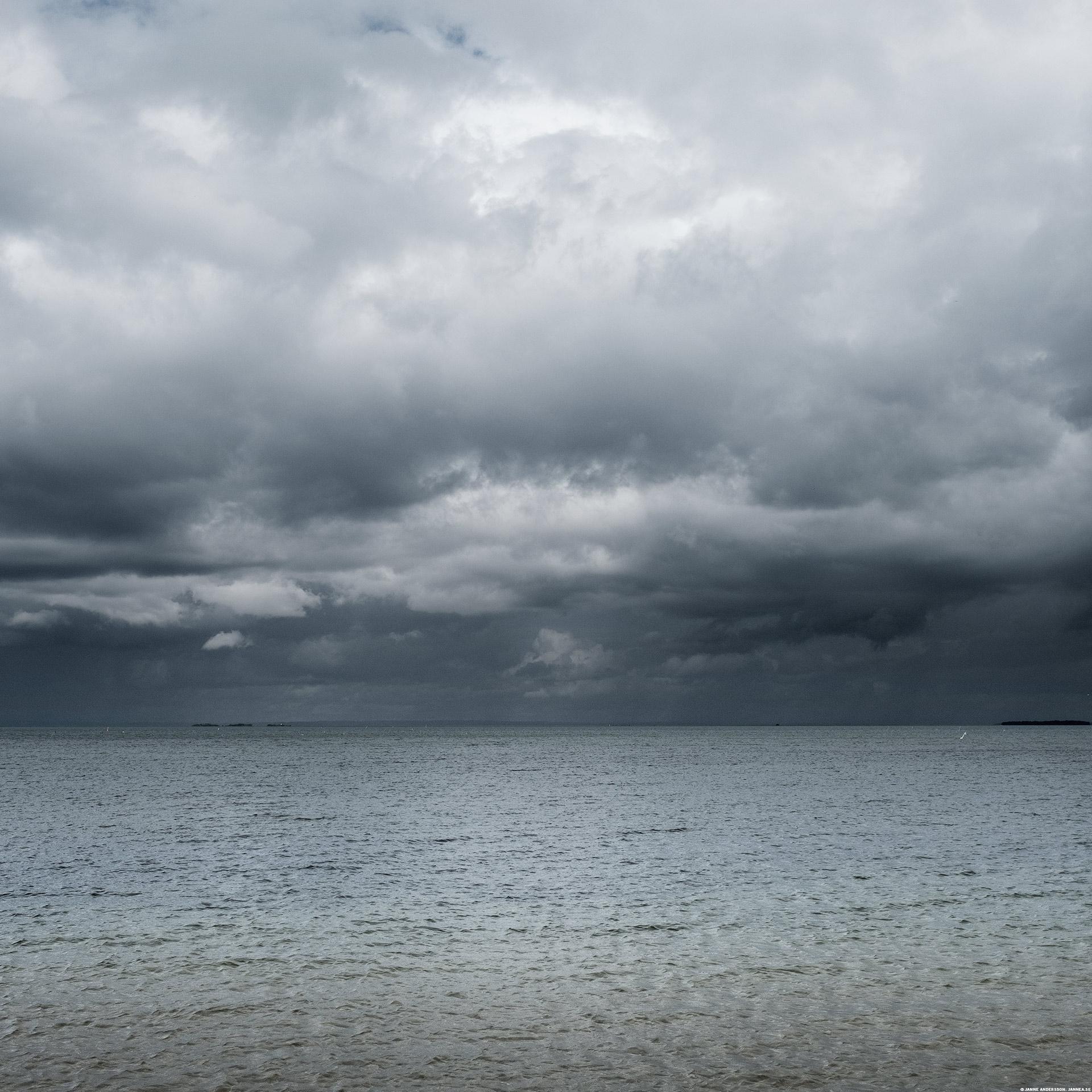 Väder över Vättern  ©Janne A