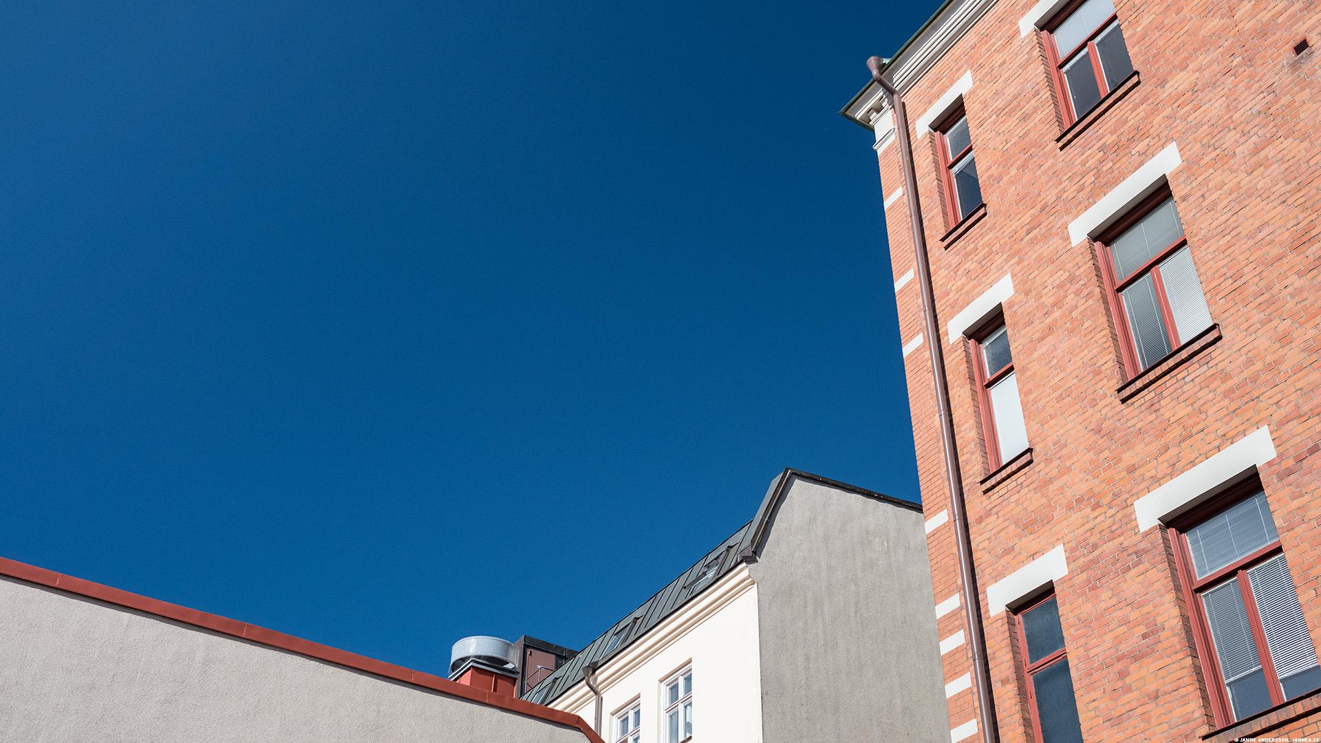 Väldigt jätteblå himmel |©Janne A