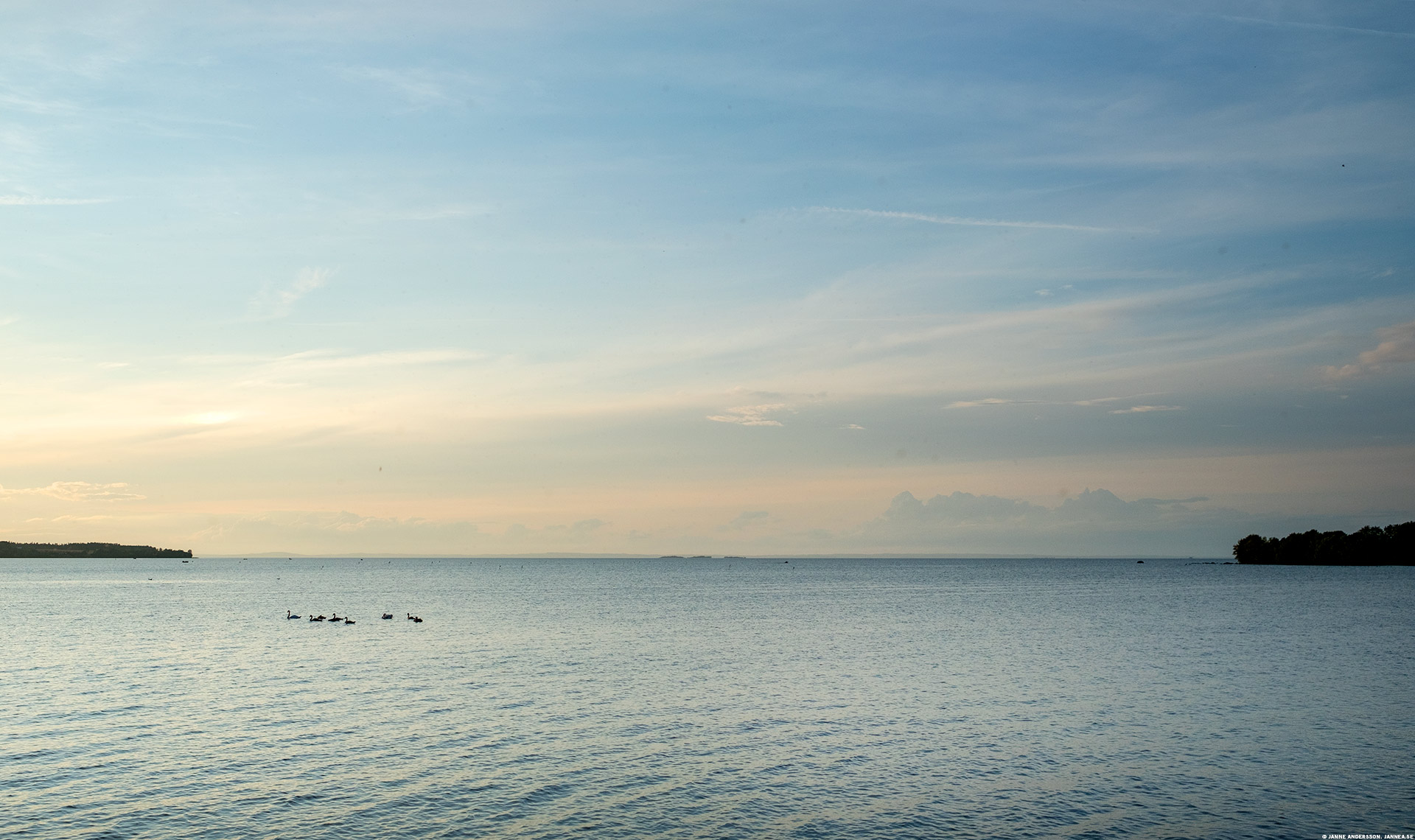 Lake of the day (Vättern) |© Janne A