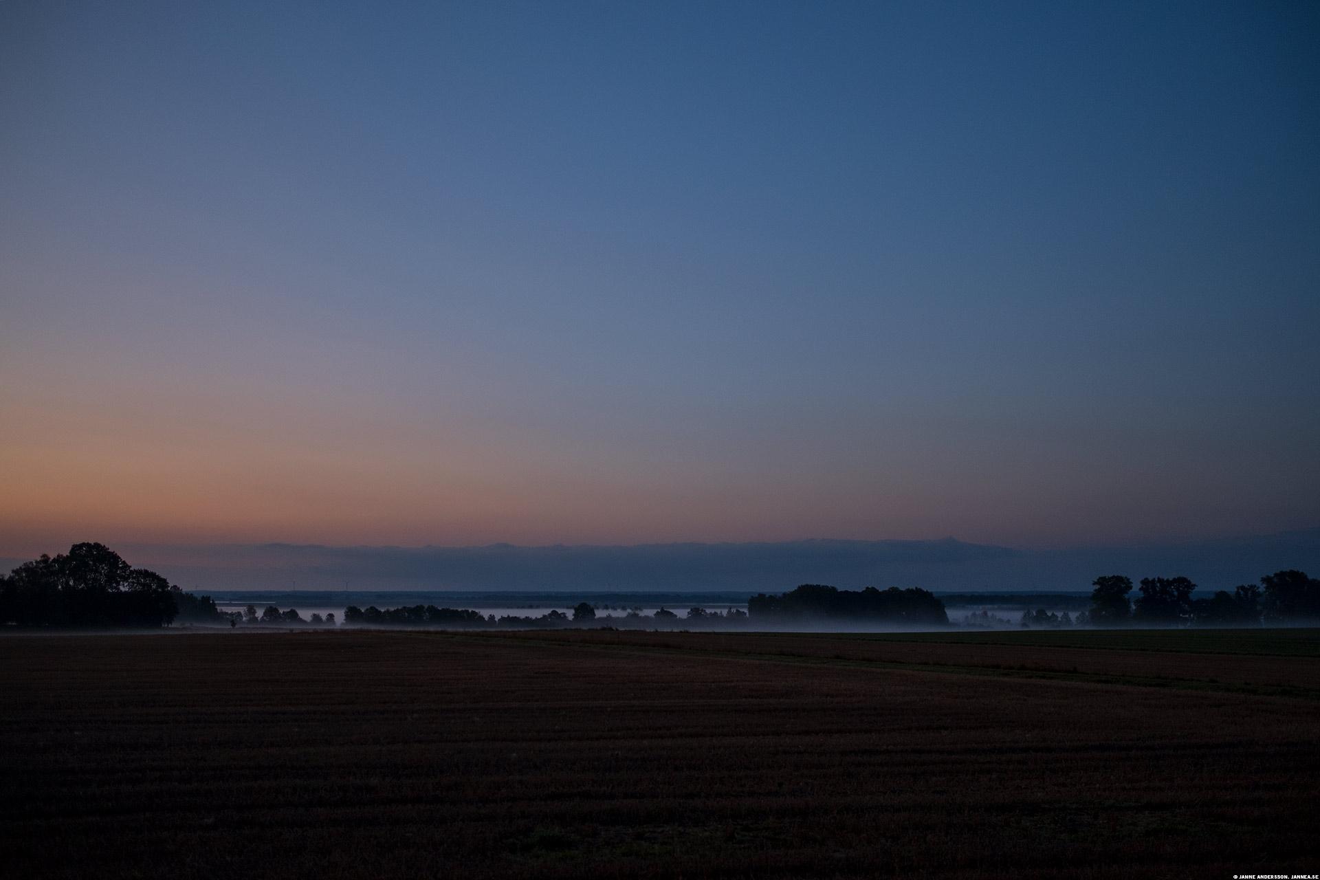 Dimma över Tåkern och slätten |©Janne A