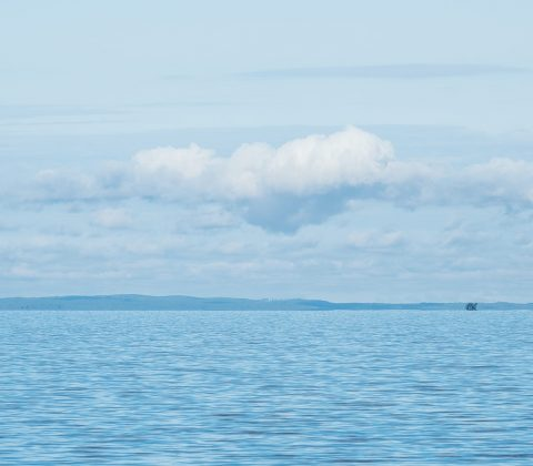 En blå sjö och himmel | © Janne A