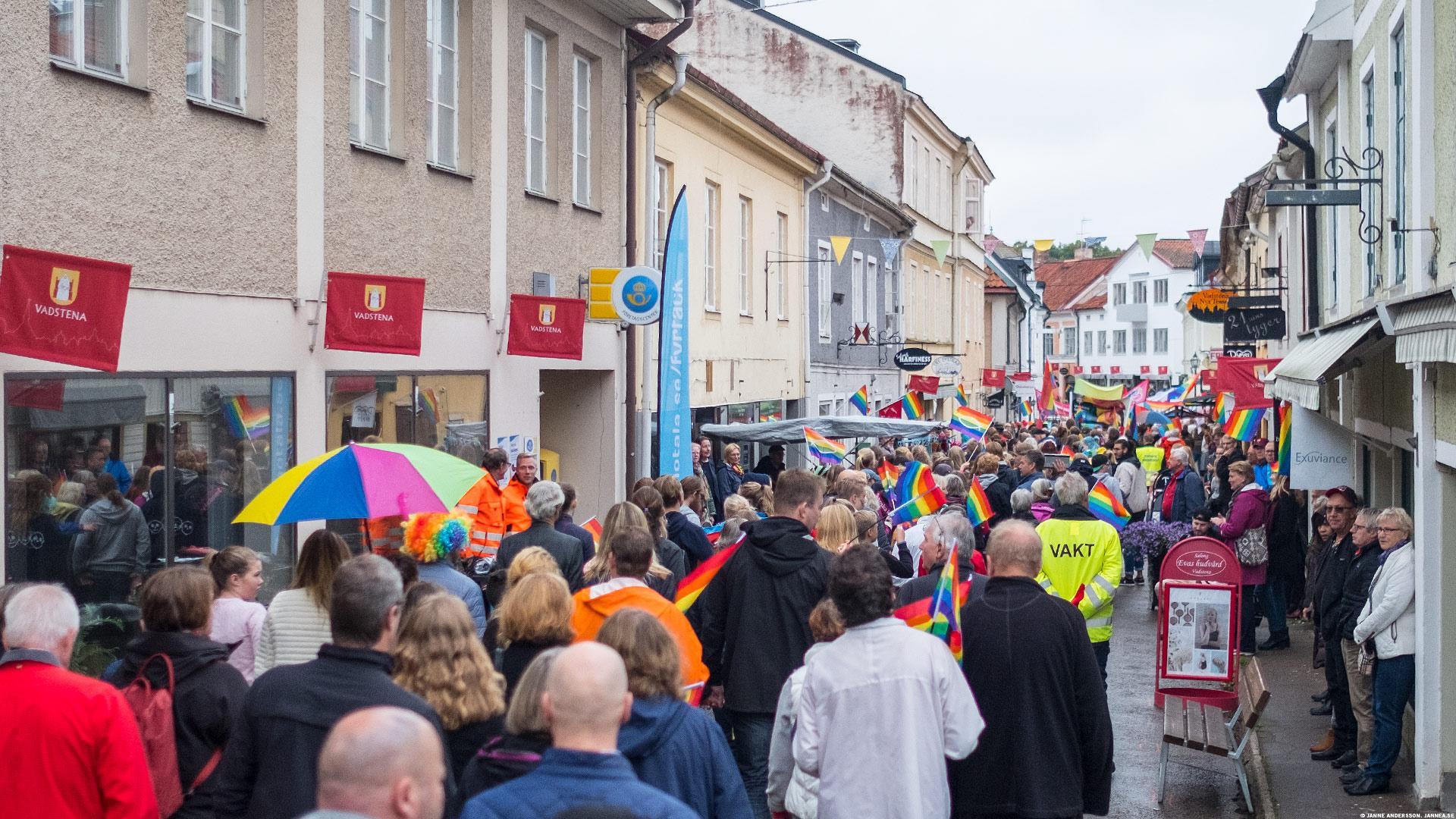 Vadstena Pride|© Janne A