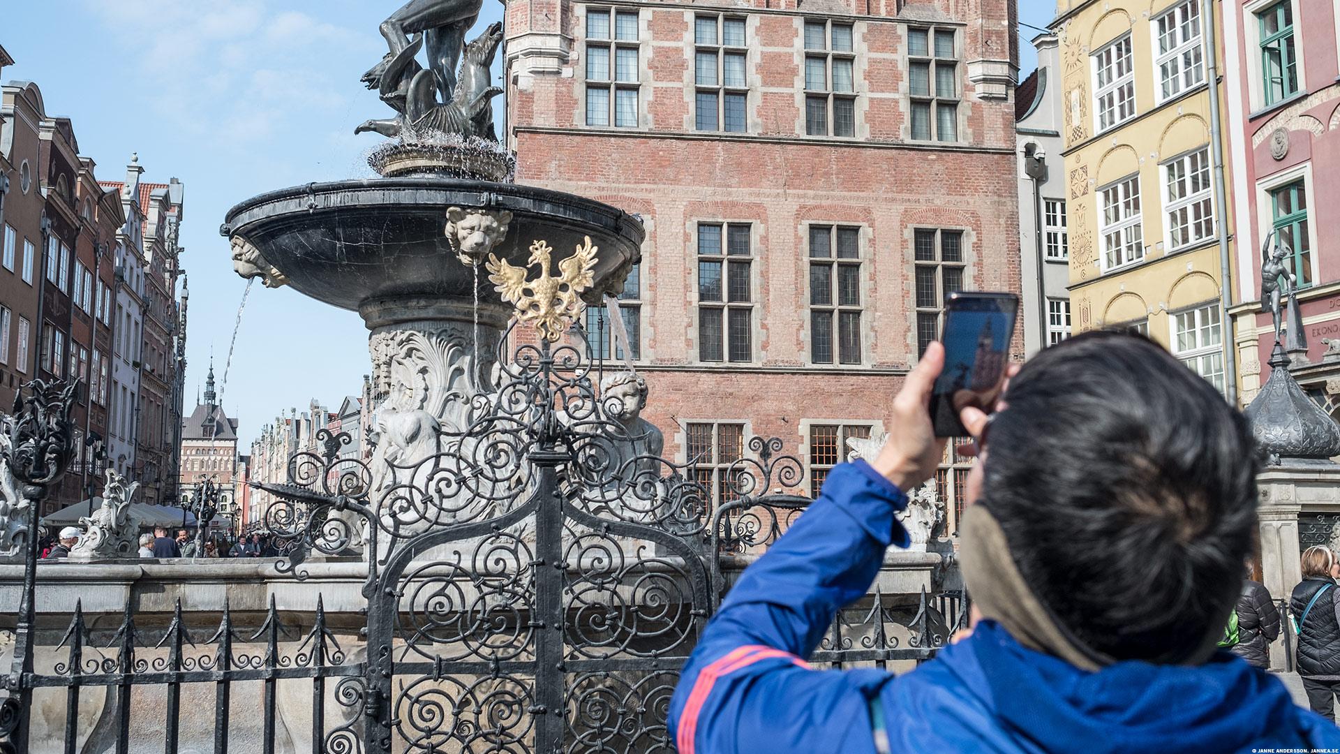 Turist som tar ett kort |©Janne A