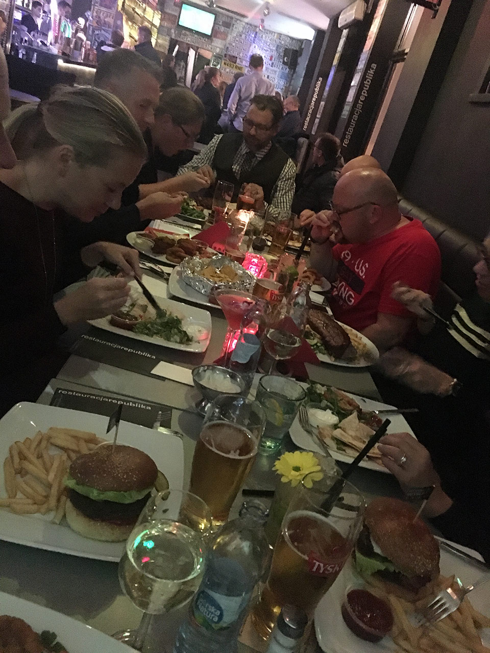 Dag två, middag i Gdansk|©Janne A