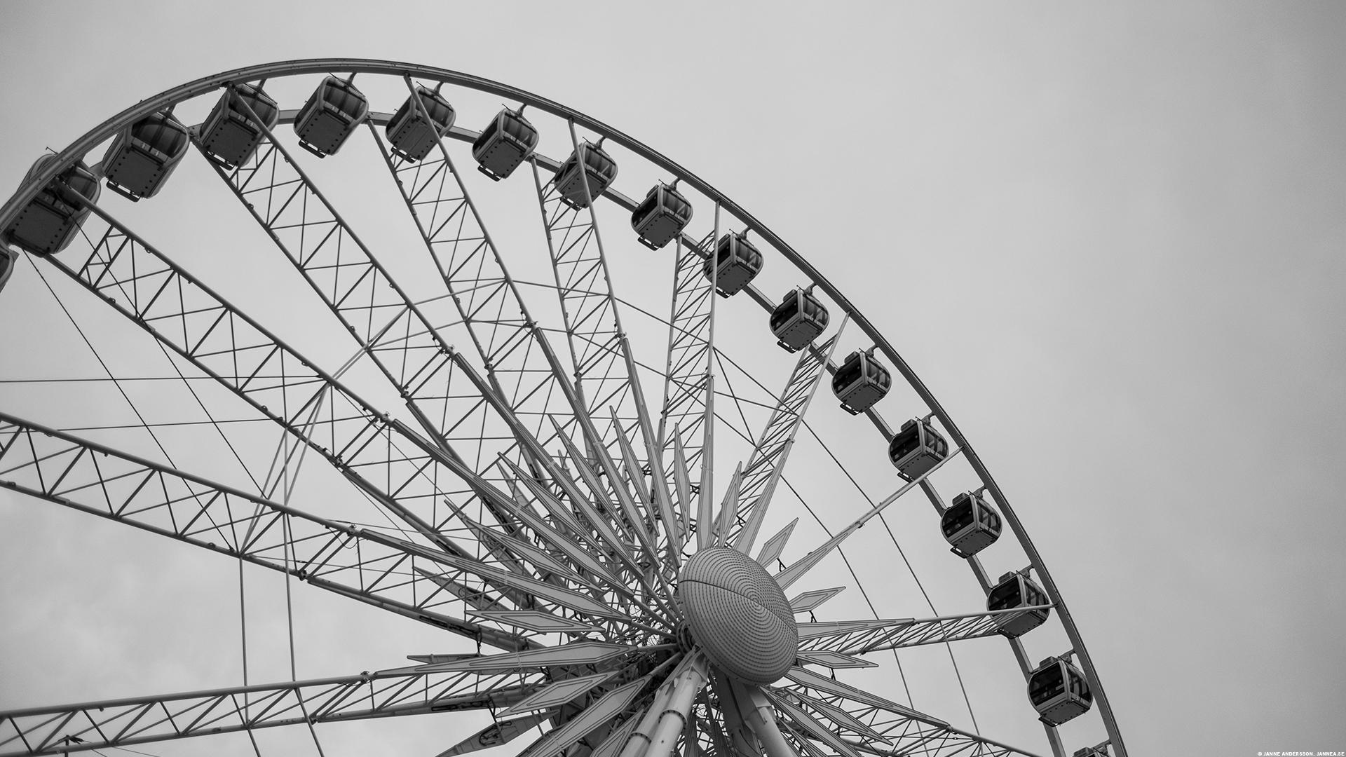 Pariserhjul, Gdansk, Polen |©Janne A