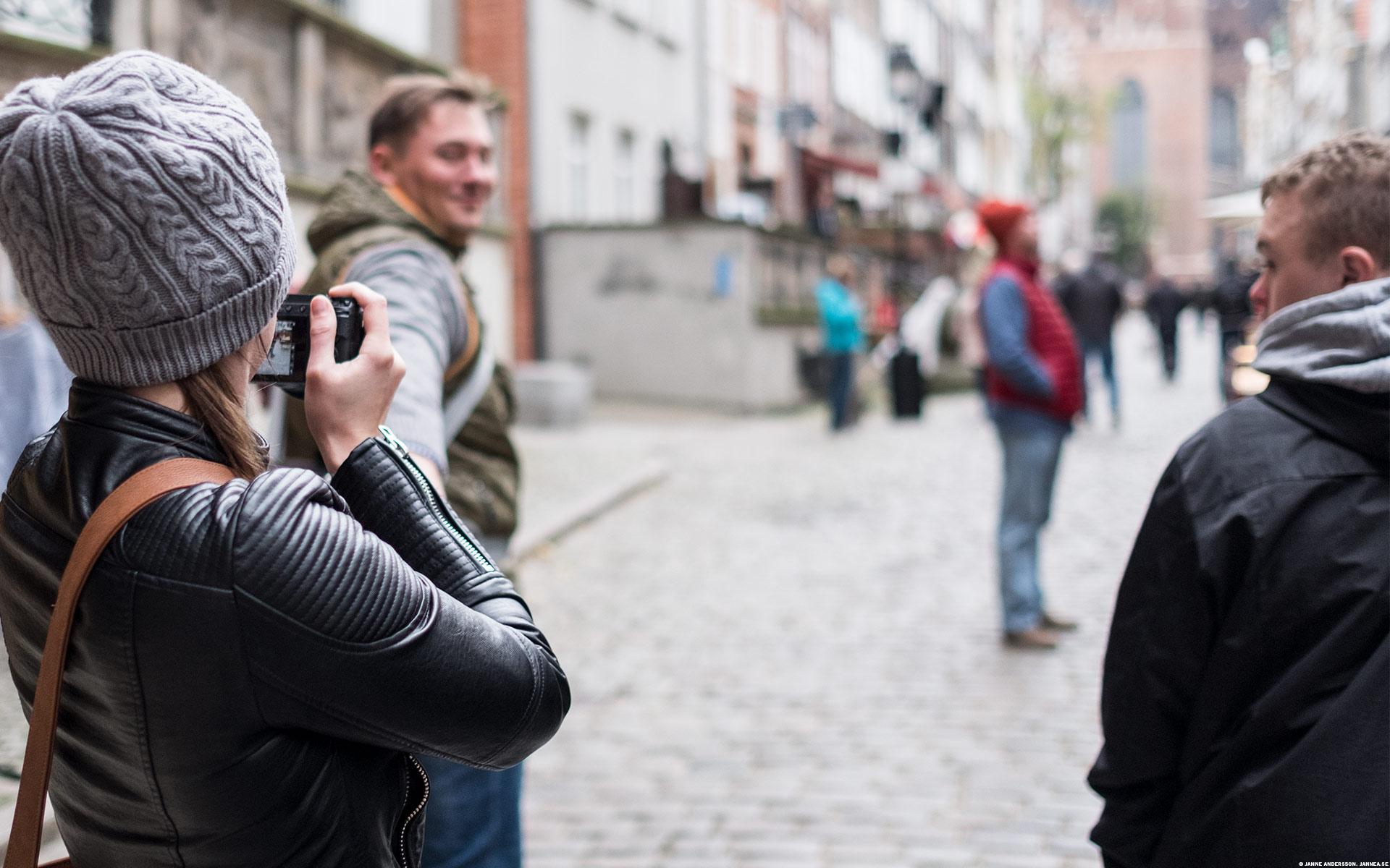 På en gata i Gdansk| © Janne A