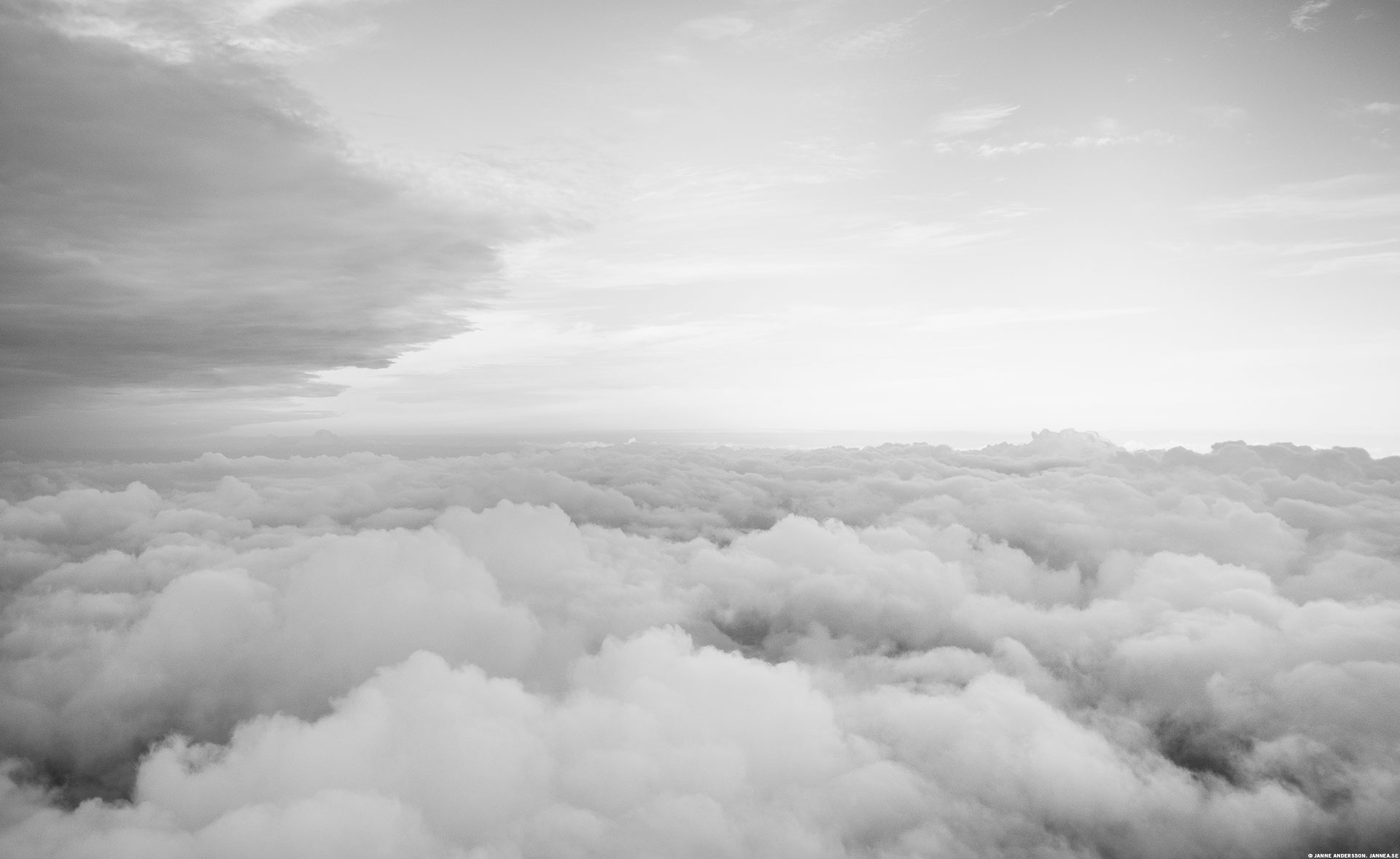 Över molnen är det ljust | ©Janne A