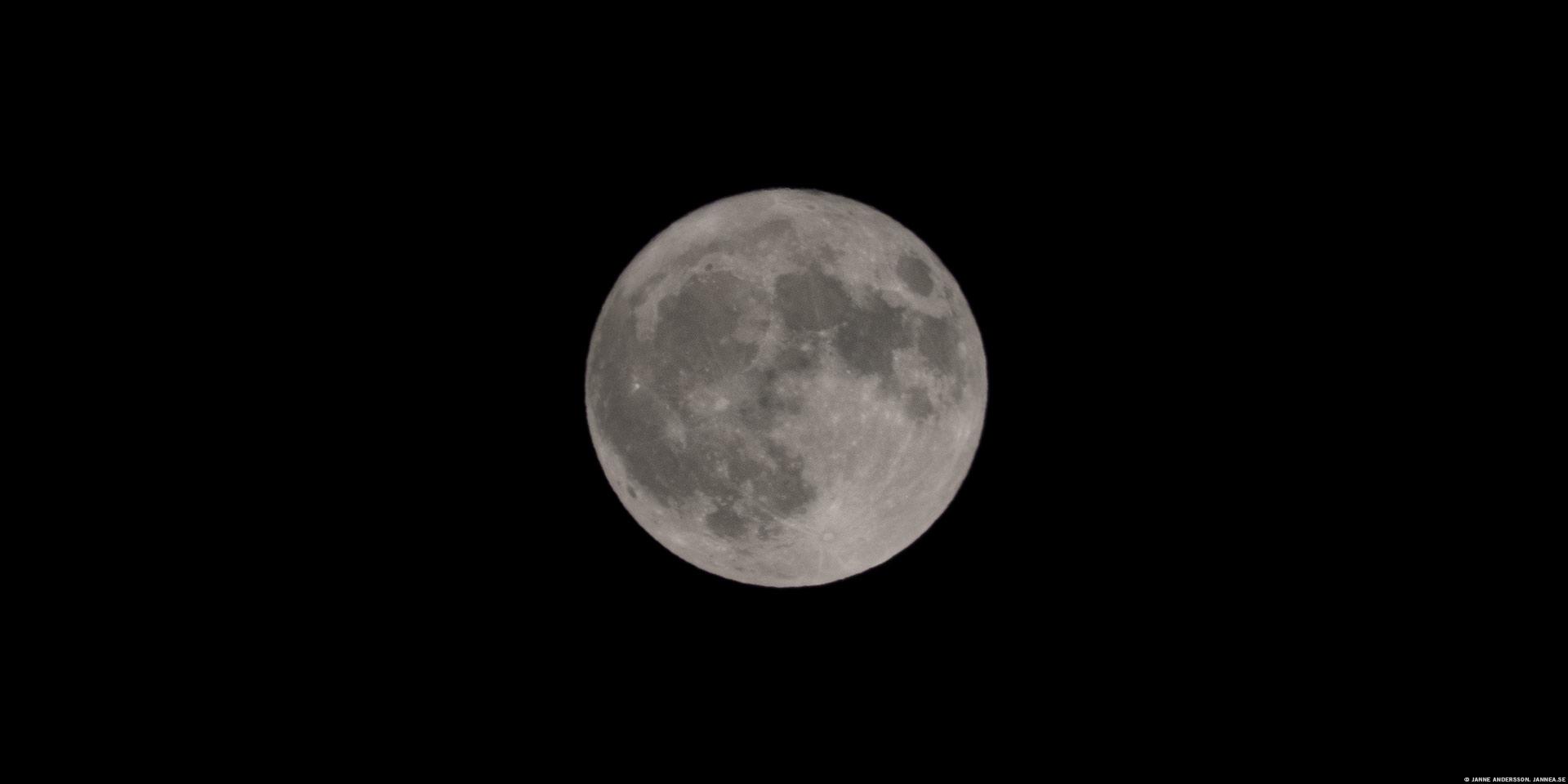 Fullmåne den 3:e december 2017 | © Janne A