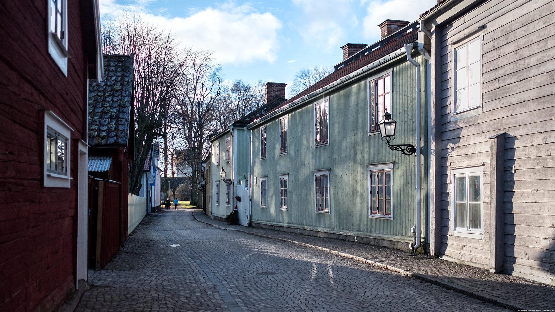 Sjögatan i Vadstena | © Janne A
