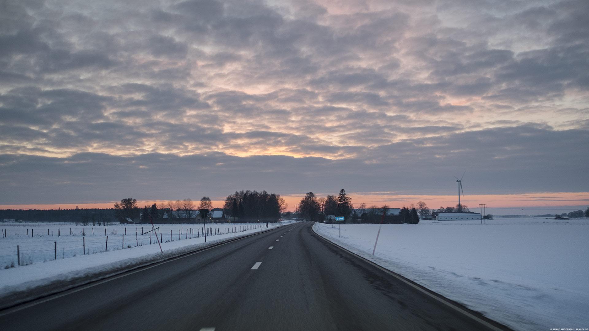 Vägen hem – i dagsljus  © Janne A