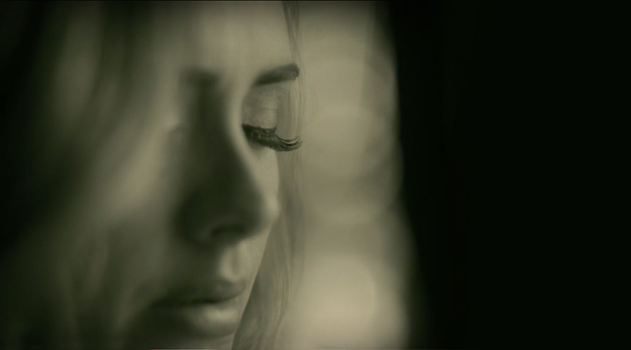 Adele Hello, photo from the video