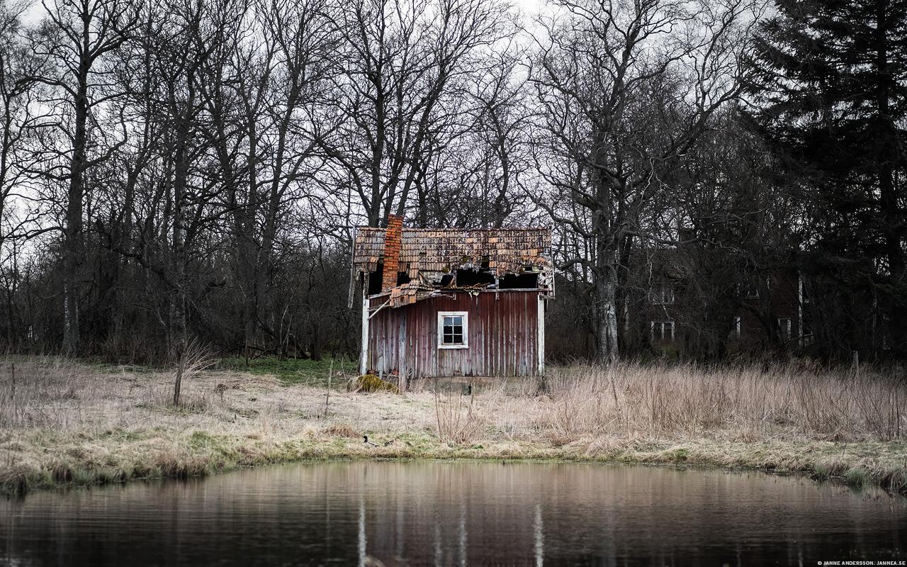 Trasigt litet torp |© Janne A