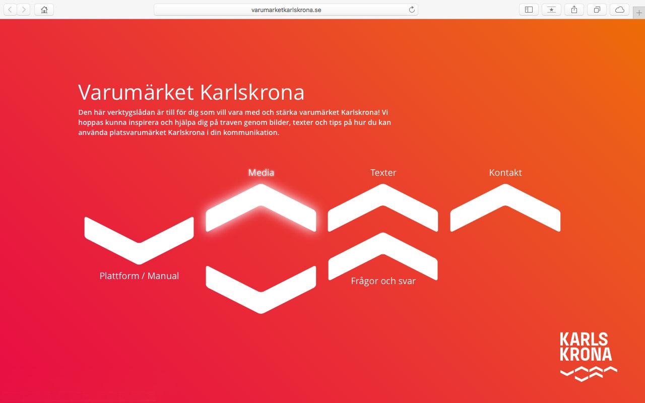 En liten sajt för Karlskrona