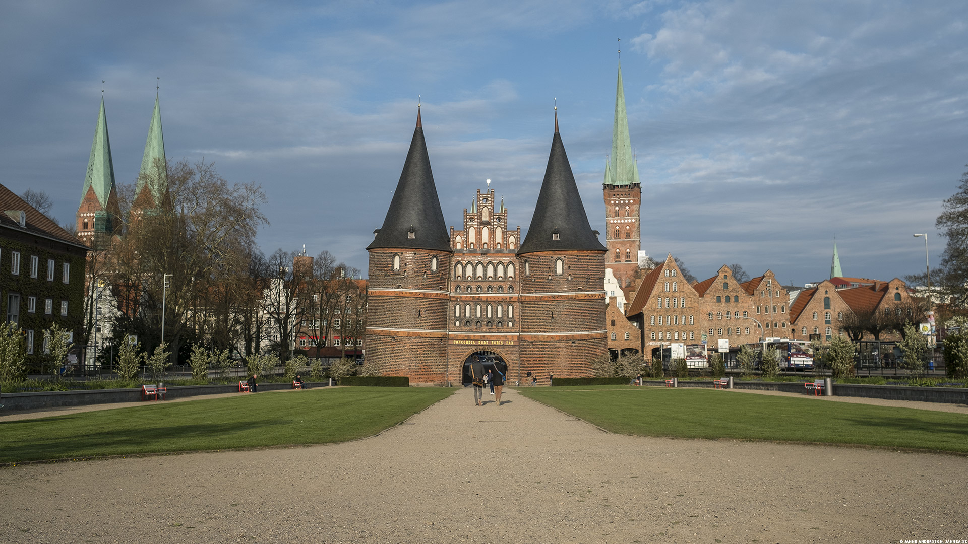 Holstentor i Lübeck |©Janne A