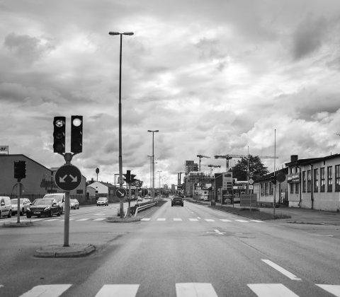 Industrigatan, Linköping och tomt på trafik |©Janne A