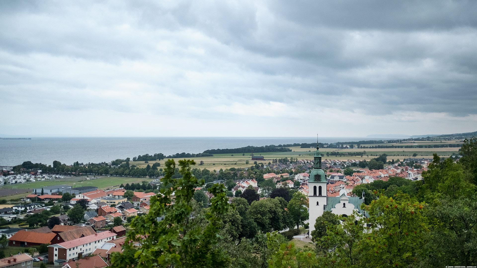 Utsikt från Grännaberget– och polkagrisar| © Janne A