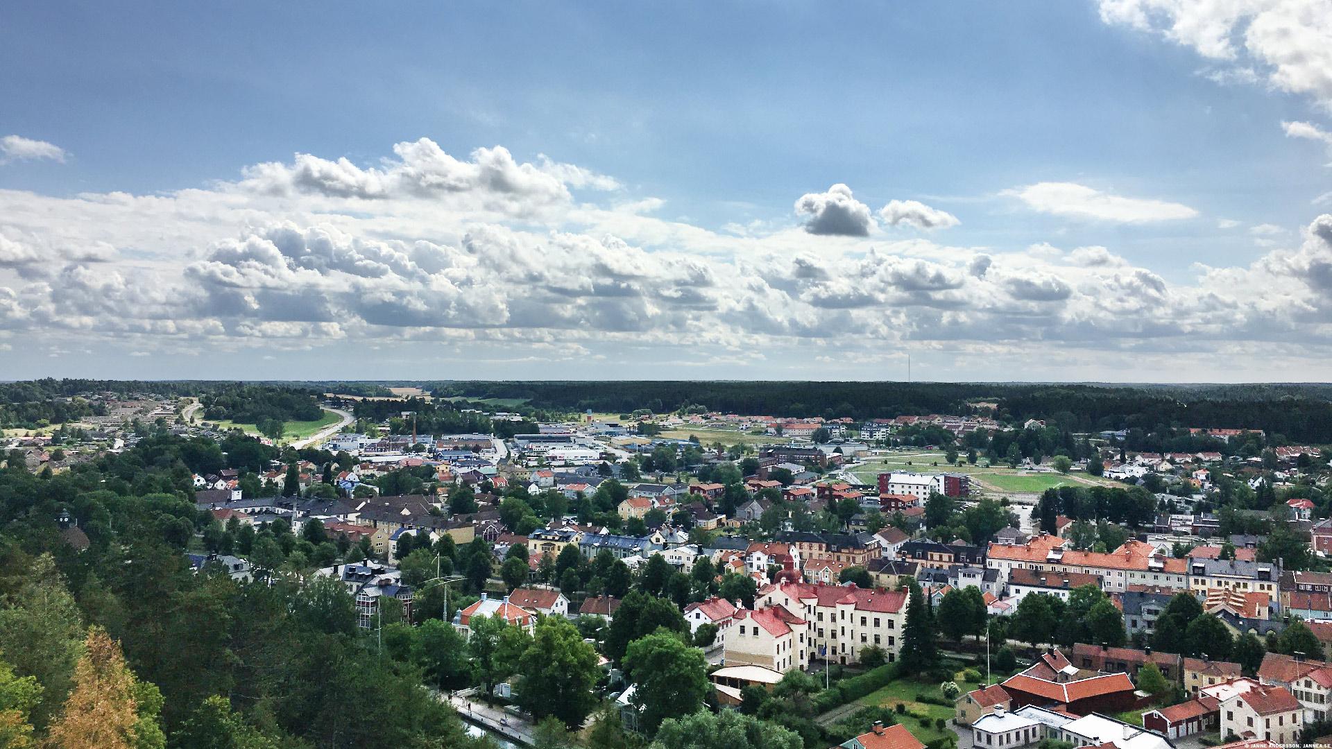 Utsikt från Ramunderberget, Söderköping |© Janne A