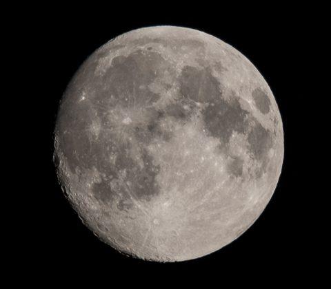 Nästan fullmåne |©Janne A