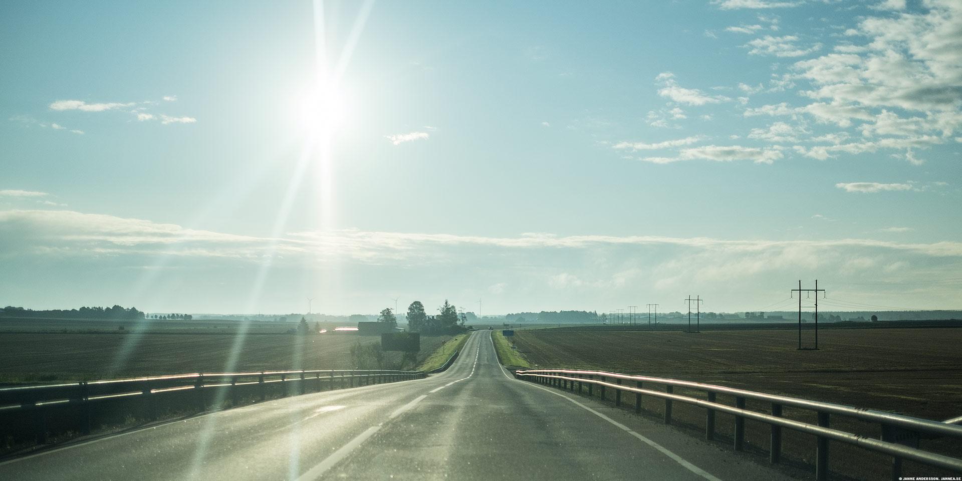 Solsken på vägen till jobbet|©Janne A