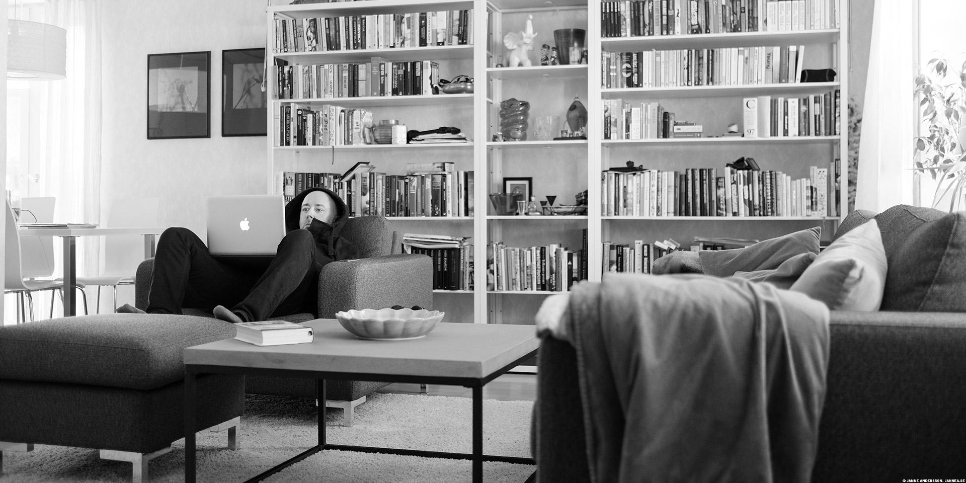 Söndag i fåtöljen |© Janne A