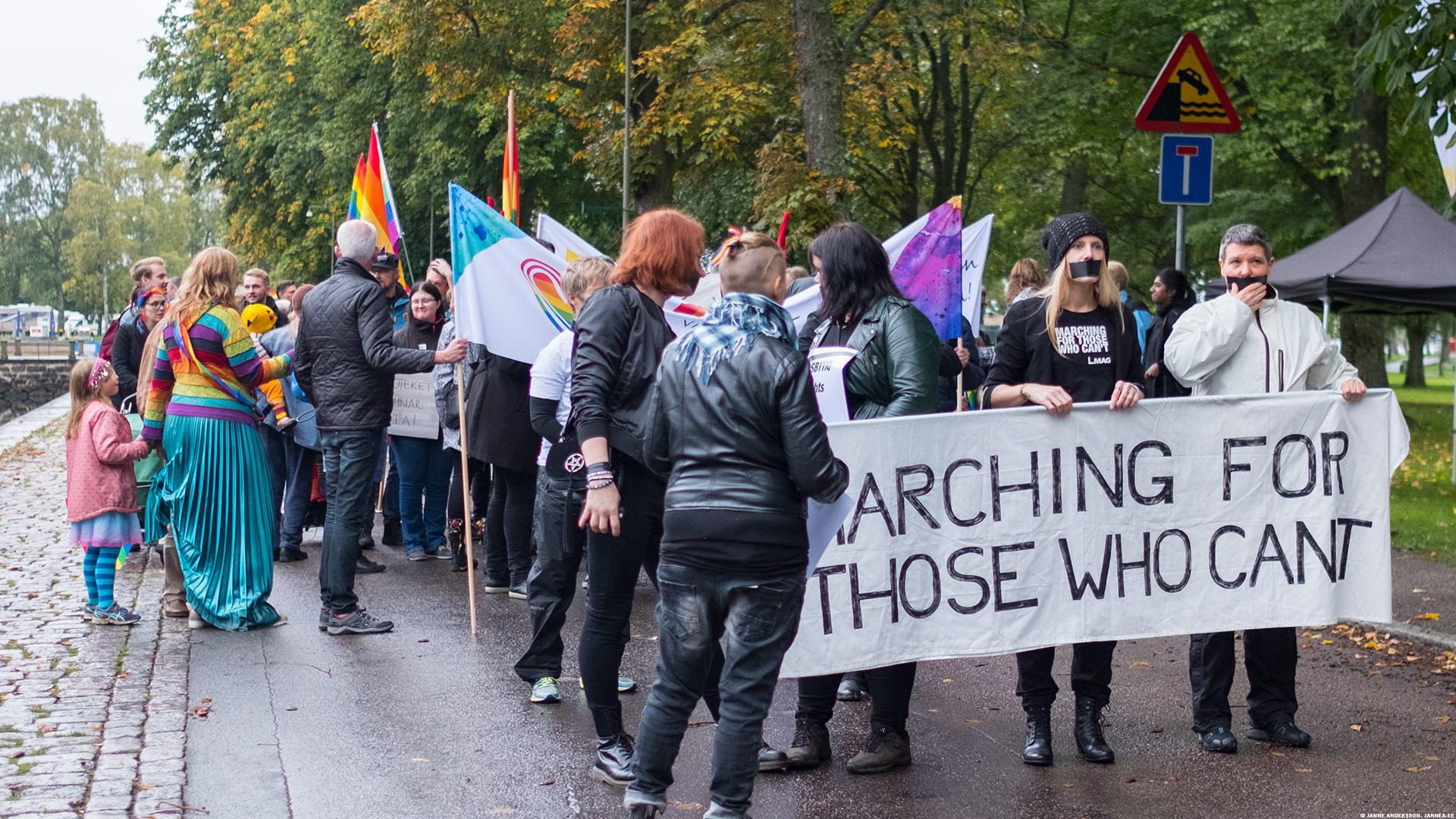 Vadstena Pride © Janne A