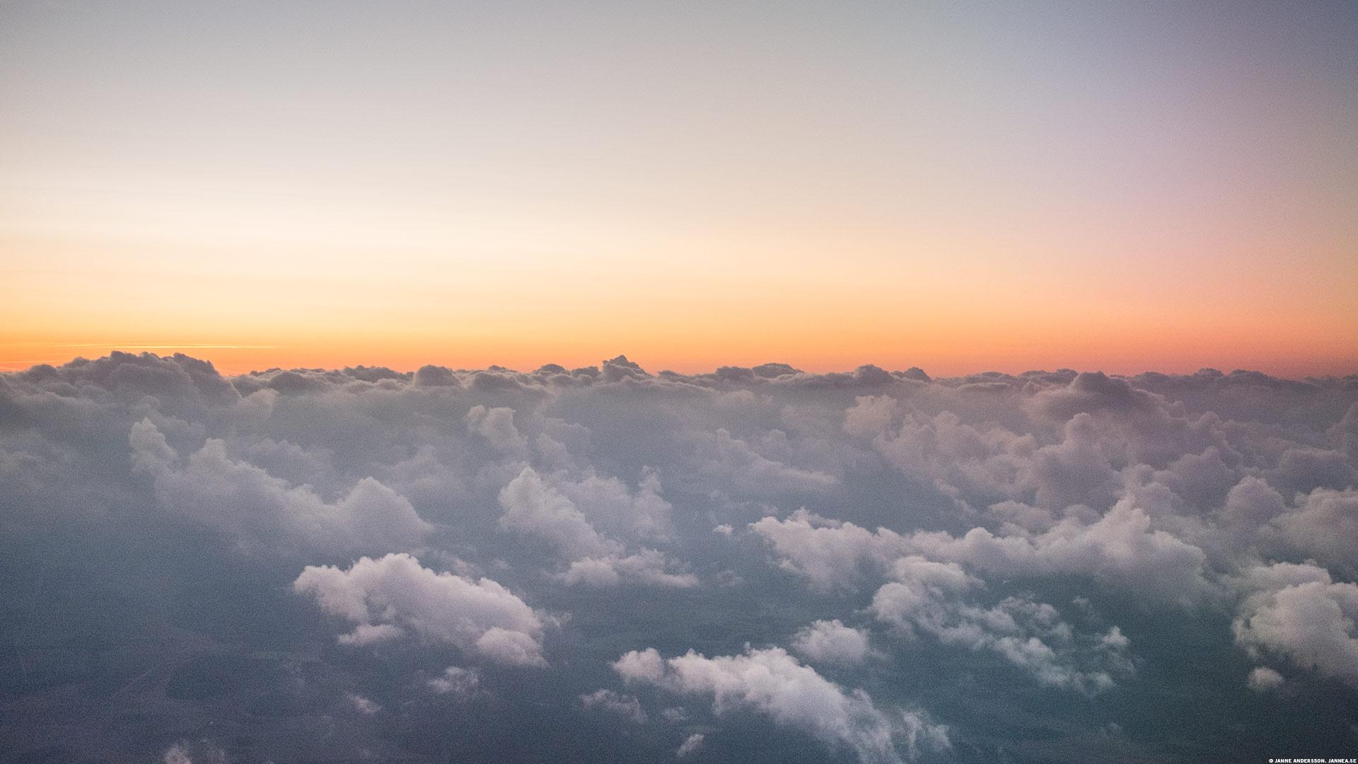 Tidigt morgonflyg till Polen|©Janne A