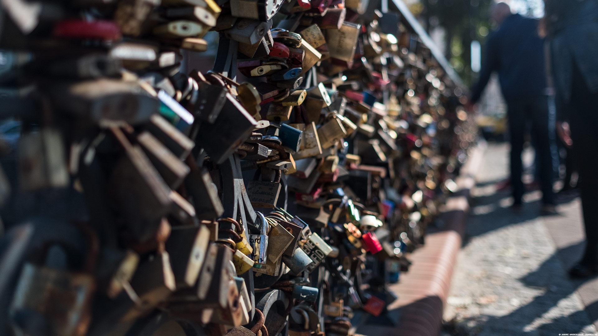 Kärleksbron i Gdansk |© Janne A