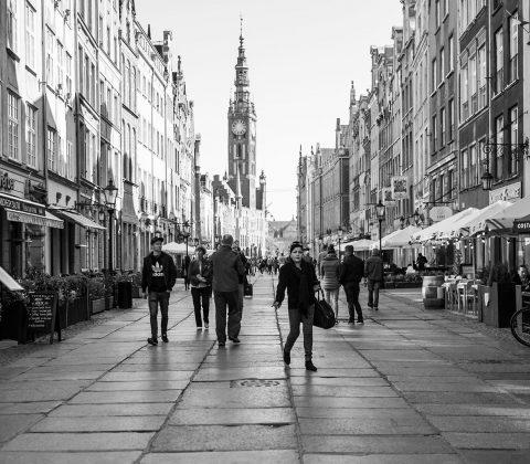 En gata i Gdansk  ©Janne A