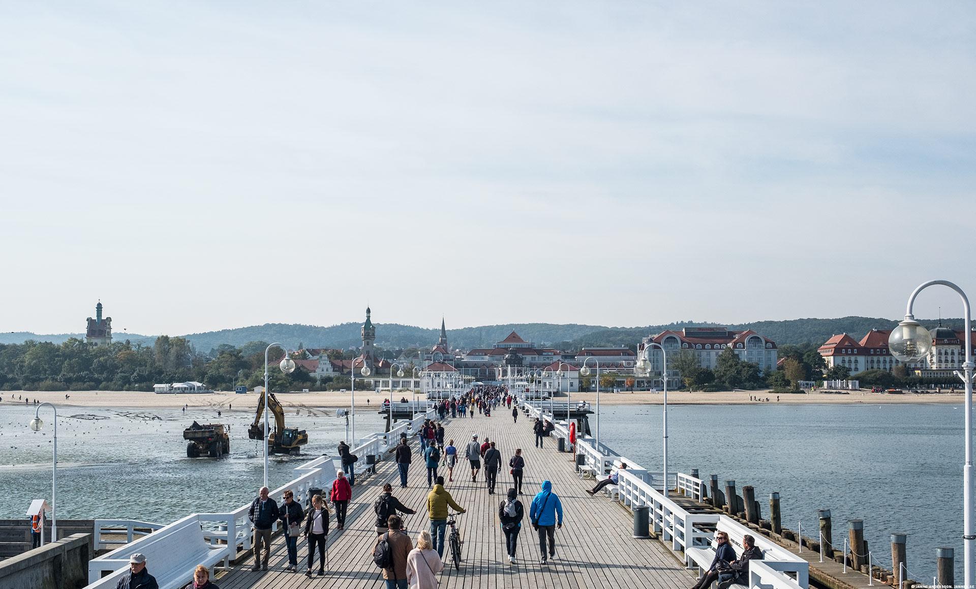 En tur till Sopot |© Janne A