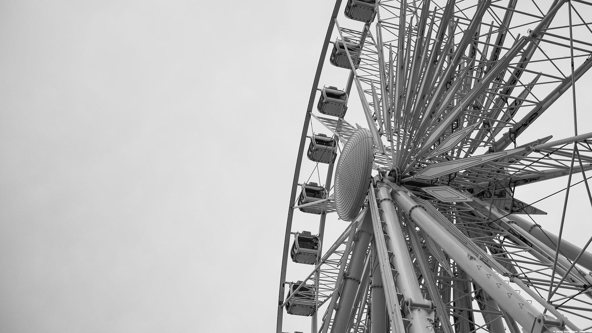 Det stora pariserhjulet i Gdansk  © Janne A