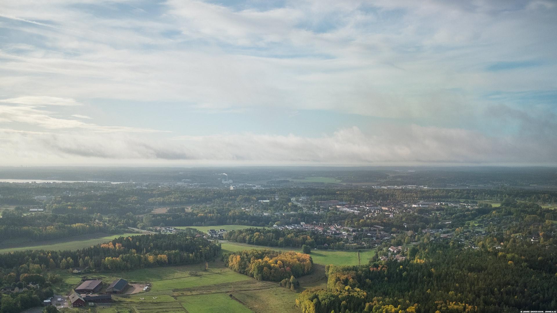 Inflygning strax utanför Nyköping | ©Janne A