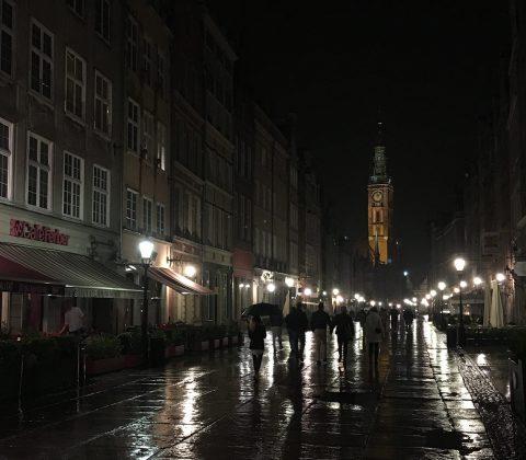En småregnig kväll i Gdansk |©Janne A