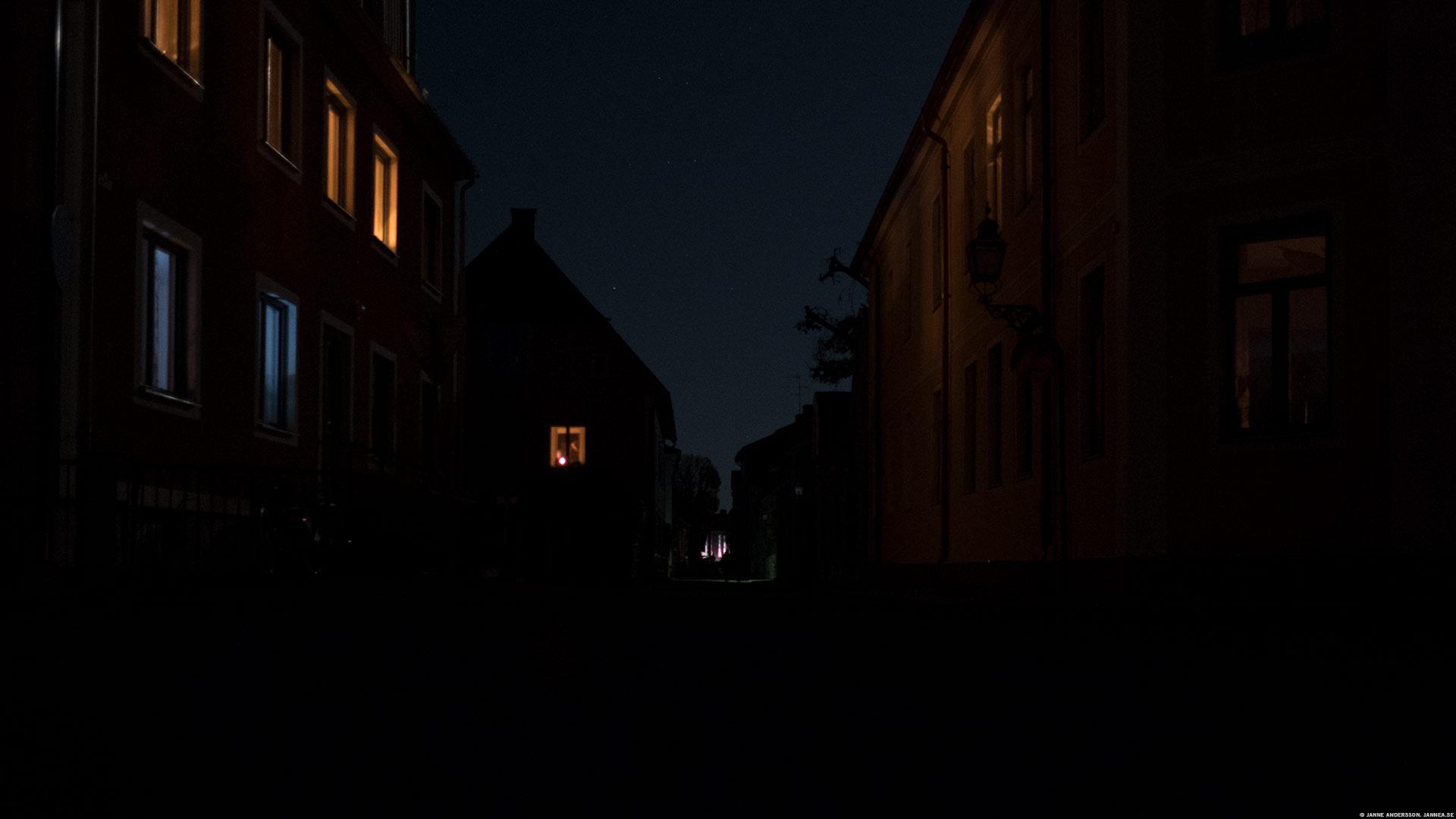 Strömavbrott i Vadstena | © Janne A