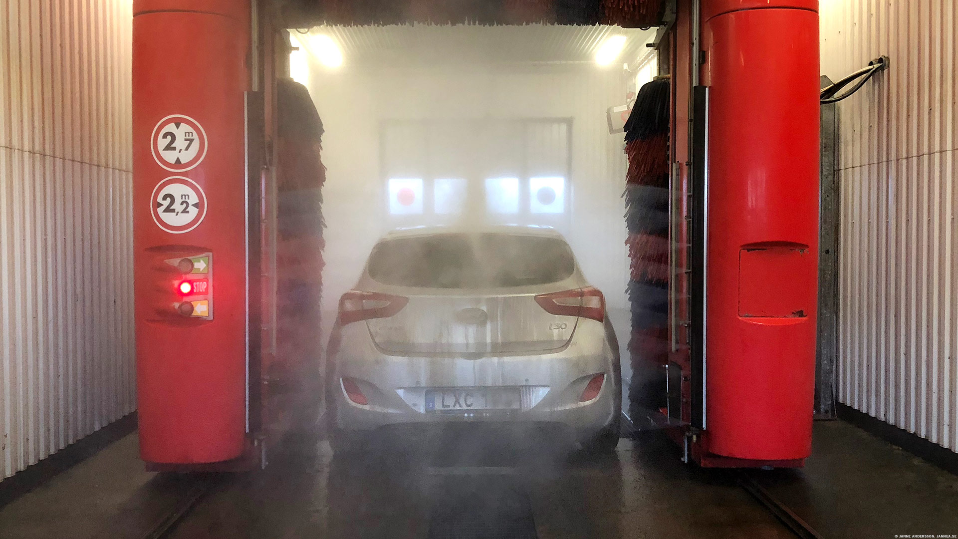 El automobile blir ren och fin | ©Janne A