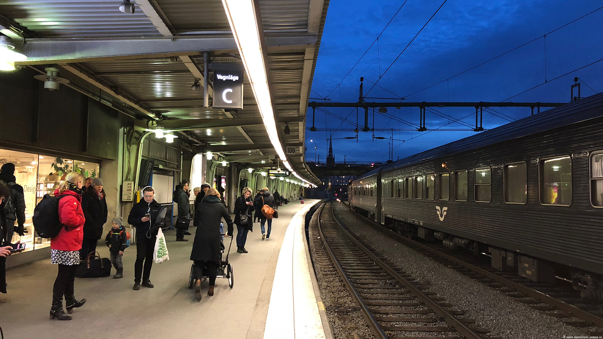 Stockholm Centralstation |© Janne A